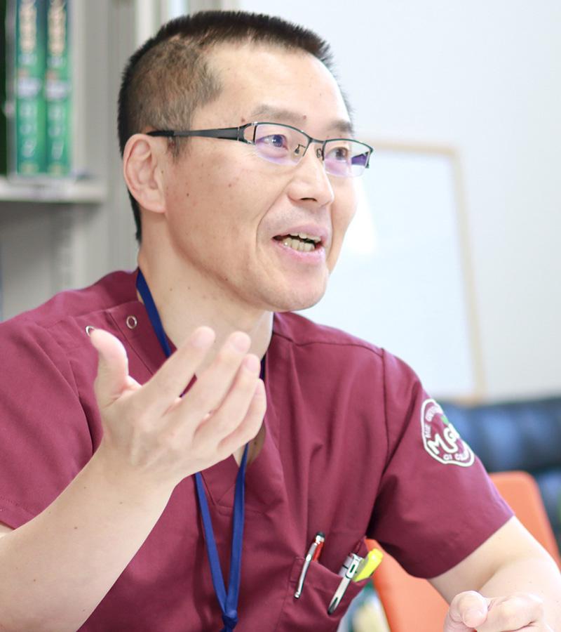初期研修センター長・山本憲彦
